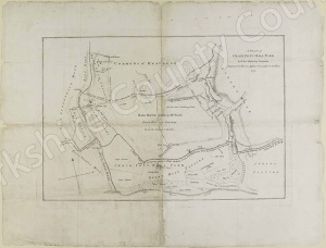Historic map of Crackpott Hall farm, Muker 1772