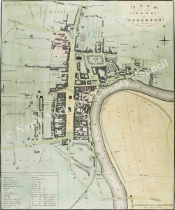 Historic map of Stockton 1826