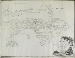 Historic map of Middleton, Aislaby & Wrelton 1810