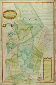 Historic map of Aske