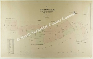Historic map of Yafforth 1853