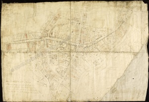 Historic map of Malton 1801