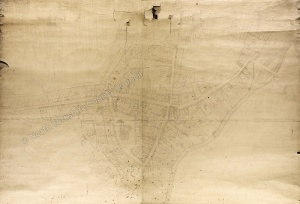 Historic map of Malton 1809