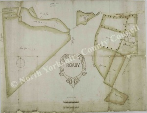 Historic map of Roxby