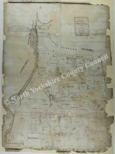Historic map of Danby 1785