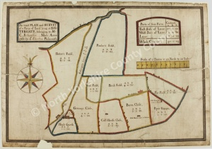 Historic plan of Lockton 1763