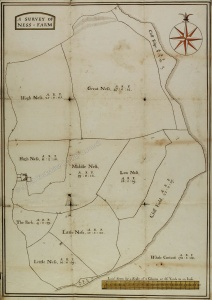 Historic map of land in Fylingdales
