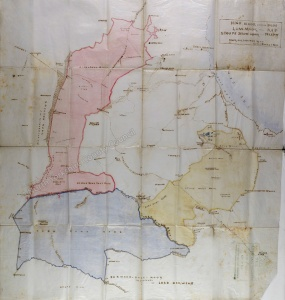 Historic map of Fylingdales Moors