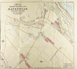 Historic map of Ravenscar 1897