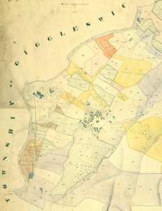 Historic map of Langcliffe 1841