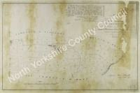 Historic tithe map of Ainderby Quernhow 1840