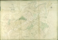 Historic inclosure map of Hensall 1821