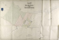 Historic inclosure map of Ripon 1858, Plan 1