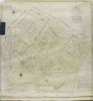 Staveley enclosure map 1805