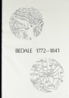 Bedale 1772-1841 compiled by M.Y.Ashcroft