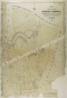Historic map of Kirby Knowle 1838