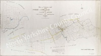 Historic tithe map of Little Ayton 1847