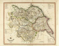 Map of Yorkshire 1822