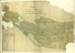 Historic map of Leyburn, Harmby and Bellerby [?1730]
