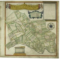 Historic map of Howsham 1705