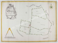 Historic map of Great Ayton 1761
