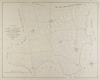 Historic map of Kirby Misperton 1849