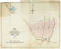 Historic map of Yafforth 1862