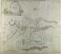 Historic map of Helmsley 1792