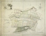 Historic map of Sproxton 1782