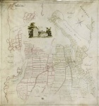 Historic map of Gillamoor and Fadmoor 1785