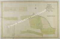Historic map of Scruton 1837