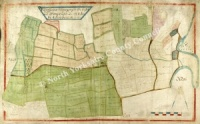 Historic Map of East Witton: Newsteades 1627