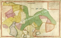 Historic Map of East Witton: Kilgram 1627