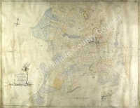 Historic map of Carthorpe 1795