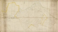 Historic map of Snape and Well 1795