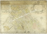 Historic map of Marske & Upleatham 1773