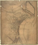 Historic map of Scarborough 1828