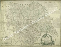 Historic map of Yorkshire