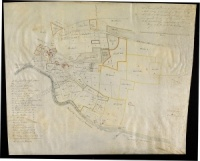 Historic map of Spennithorne 1715