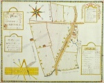 Historic map of Constable Burton 1813