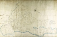 Historic map of Masham 1801