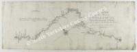 Historic map of Swale & Ouse Rivers 1735