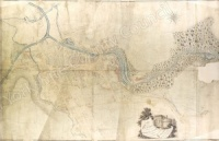Historic map of Skipton in Craven