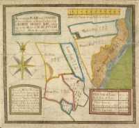Historic map of land at Robin Hood's Bay 1764